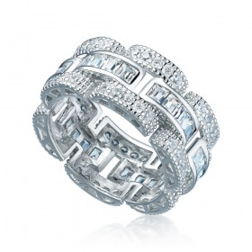 WELCOME TO MIAMI - Silver ring