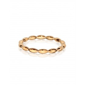 Stack It Sister - Rose Gold Plated Silver Ring